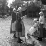 Madison, Lisa, Emma, & Tasha at Schiele's Backcountry Farm