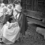Grace, Tasha, & Emma at Schiele's Backcountry Farm