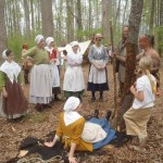 Native interpreter Doug Wood explains Cherokee capture techniques (trailsinclivinghistory.com)